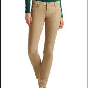 Vince Tan Khaki Skinny Work Pants